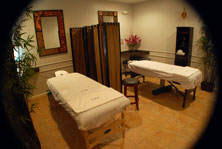 Massages and Acupuncture Are Offered